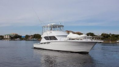Photo of 2000 Hatteras 55′ Convertible – $510,000