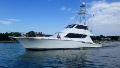 Photo of 1999 Hatteras 70′ Convertible – $699,000