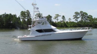 Photo of 1999 Hatteras 60′ Convertible – $344,500