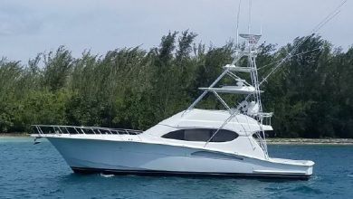 Photo of 2003 Hatteras 54′ Convertible – $490,000