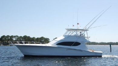 Photo of 2004 Hatteras 54′ Convertible – $649,000