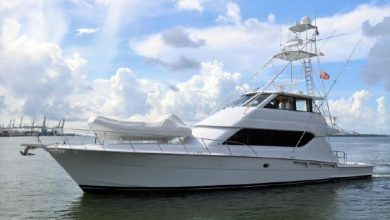 Photo of 2001 Hatteras 70′ Convertible – $677,000