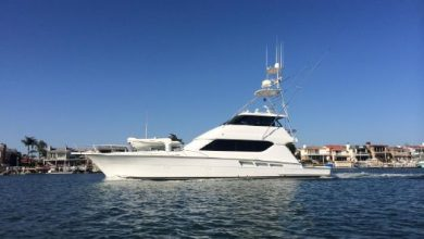 Photo of 2001 Hatteras 65′ Convertible – $649,000