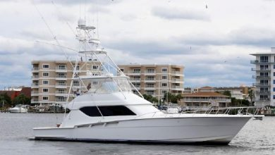 Photo of 2002 Hatteras 60′ Convertible – $849,000