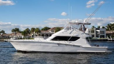 Photo of 2000 Hatteras 60′ Convertible – $679,000