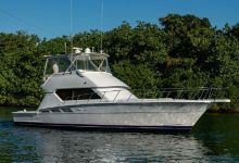 Photo of 1999 Hatteras 50′ Convertible – $299,000