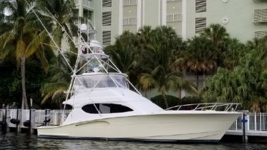 Photo of 2003 Hatteras 54′ Convertible – $599,000