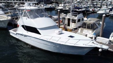 Photo of 2006 Hatteras 50′ Convertible – $535,000