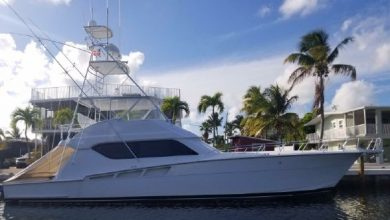 Photo of 2002 Hatteras 60′ Convertible – $770,000