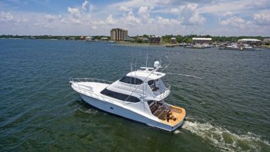 Photo of 2007 Hatteras 64′ Convertible – $1,249,999