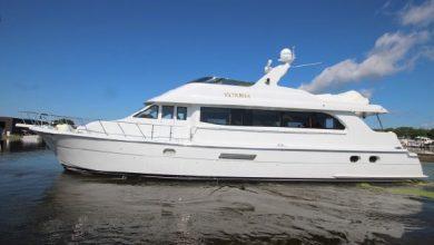 Photo of 2001 Hatteras 75′ Motor Yacht – $1,299,900