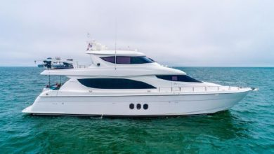 Photo of 2011 Hatteras 80′ Motor Yacht – $3,995,000