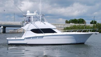 Photo of 2004 Hatteras 50′ Convertible – $619,000