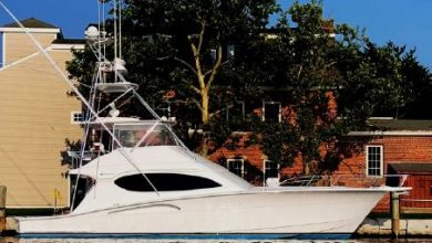 Photo of 2004 Hatteras 54′ Convertible – $689,900