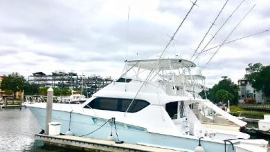 Photo of 2000 Hatteras 60′ Convertible – $720,000