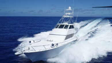 Photo of 2003 Hatteras 70′ Convertible – $1,499,000