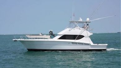 Photo of 2002 Hatteras 50′ Convertible – $489,000
