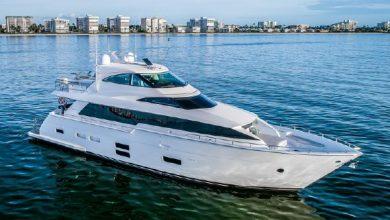 Photo of 2017 Hatteras M75 Panacera Motor Yacht – $5,099,000