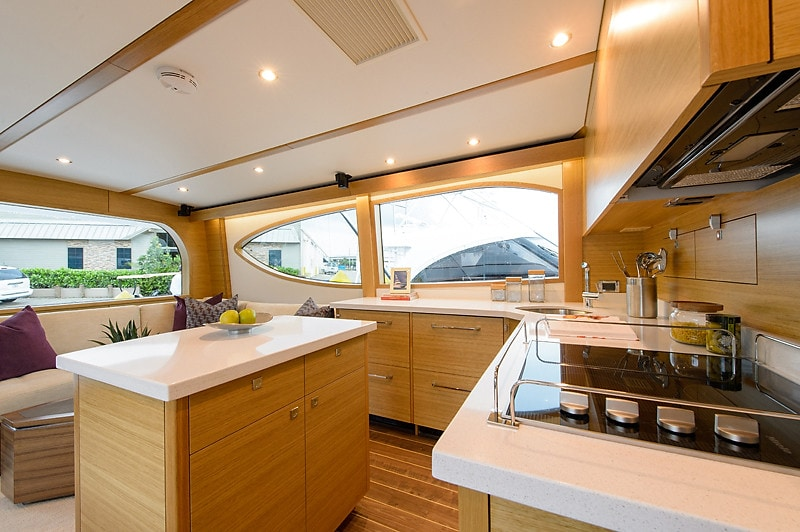 Hatteras GT54 Galley Light