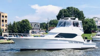 Photo of 2005 Hatteras 50′ Convertible – $649,900
