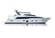 Photo of New Hatteras 105 Raised Pilothouse