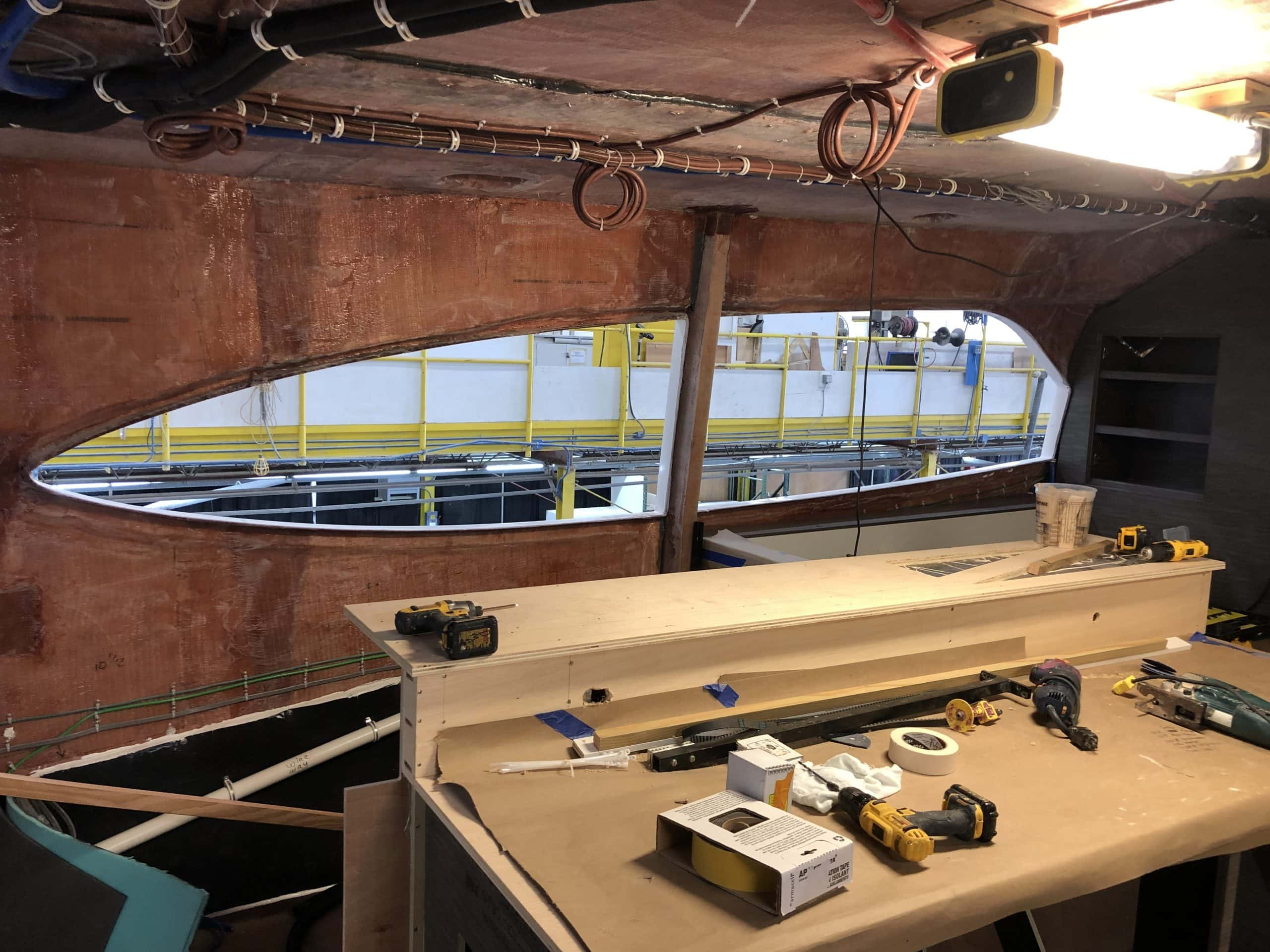 Hatteras GT65 Carolina In Production