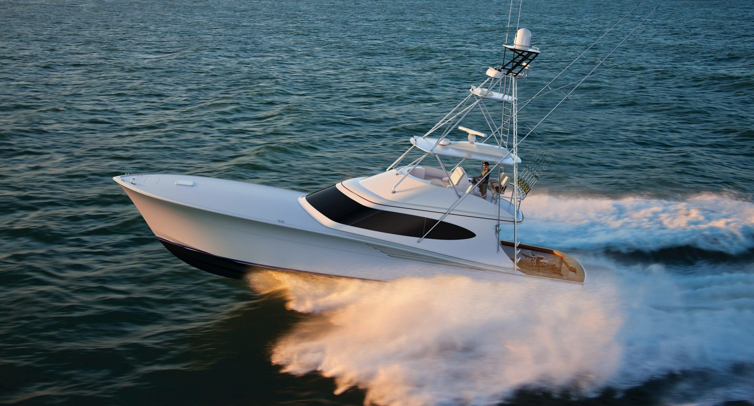 Hatteras GT65 Carolina Running Port
