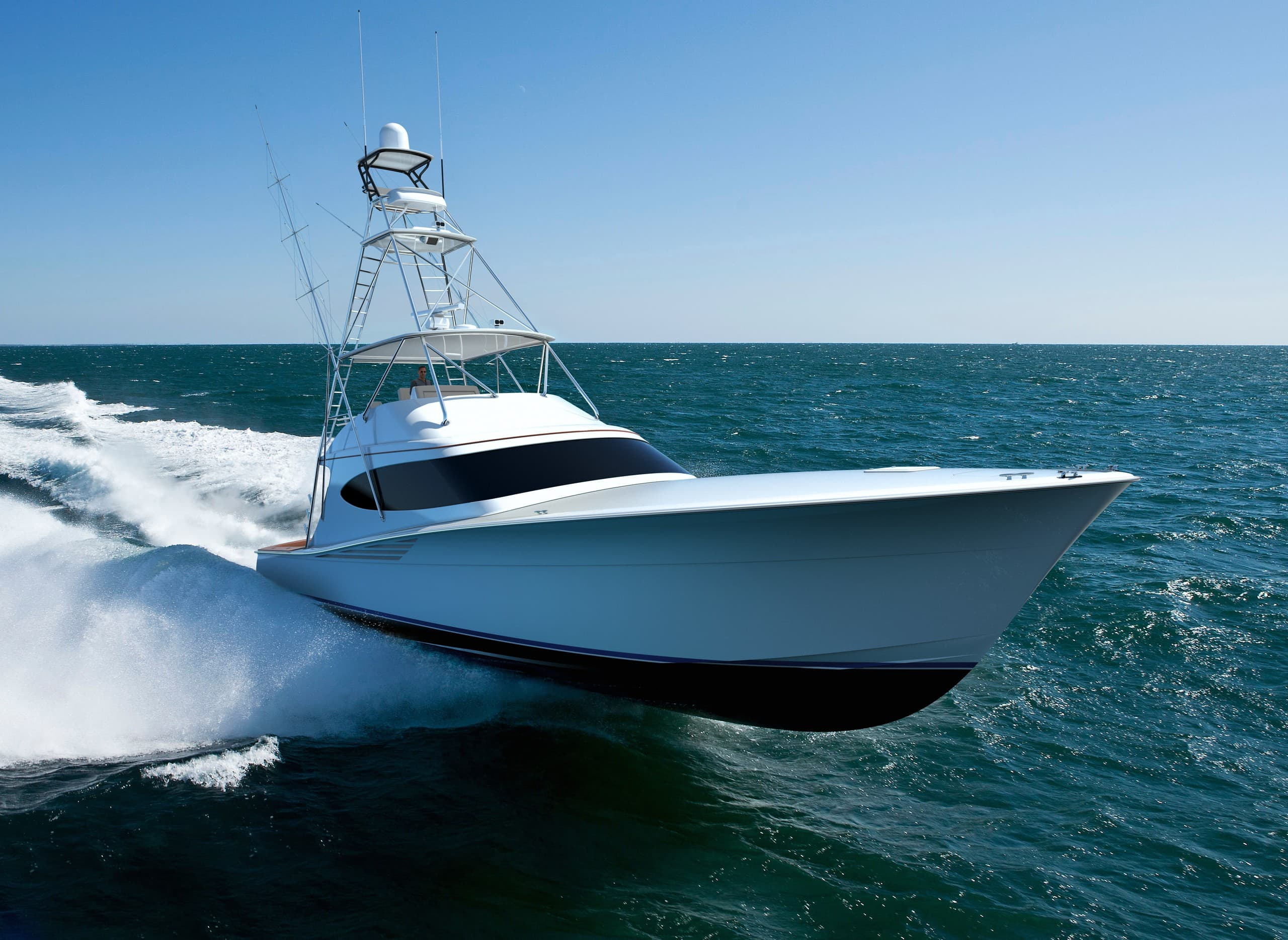 Hatteras GT65 Carolina Underway